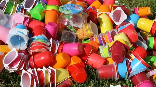 Zber odpadov - PLASTY