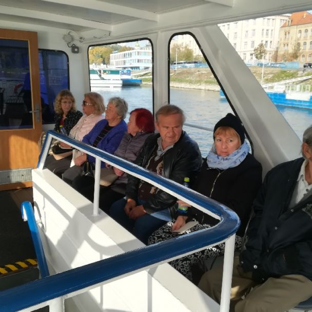 Výlet loďou na Devín
