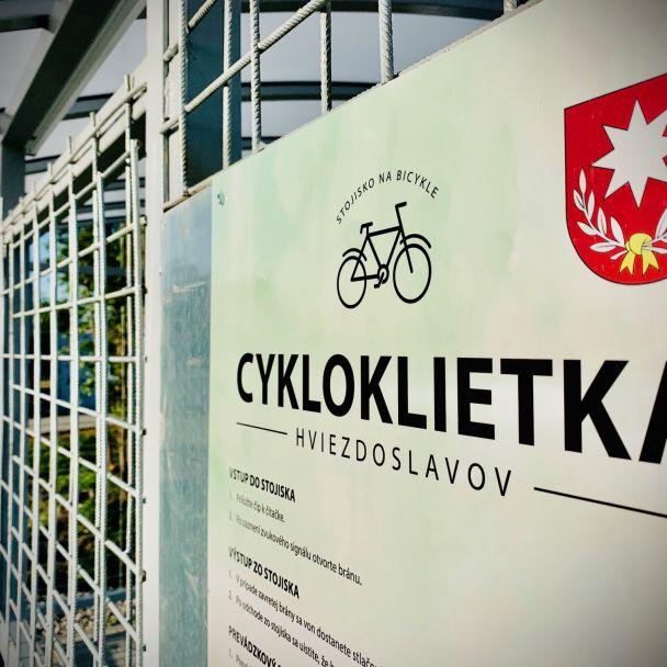 Cykloklietka Hviezdoslavov je hotová