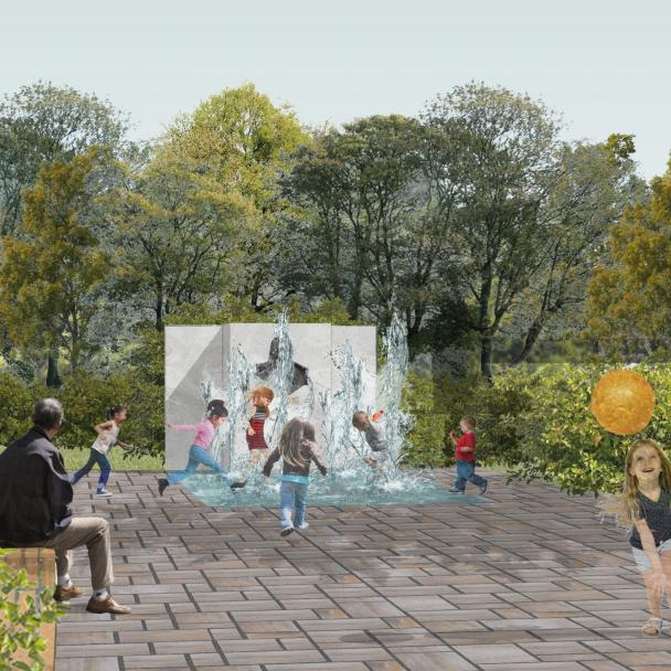 Vizualizácie Vodozádržného parku Hviezdoslavov