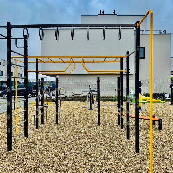 Doplnenie prvkov do Work-out & fitness zóny