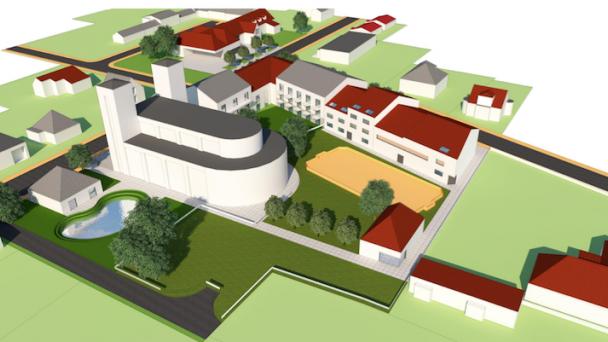 Zastavovacia štúdia zóny centrum obce Hviezdoslavov + vyhodnotenie prieskumu