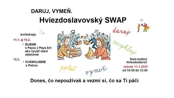 Daruj, vymeň - Hviezdoslavovský SWAP!