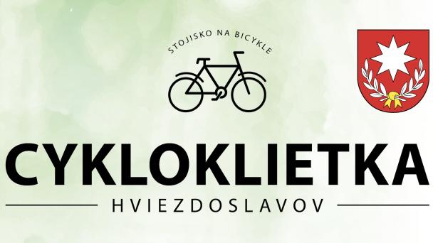 Otvárame našu novú cykloklietku pri žel. zastávke